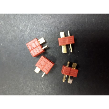 DEANS CONNECTOR - RED