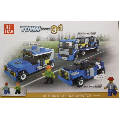 3in1 BLOCK SETS